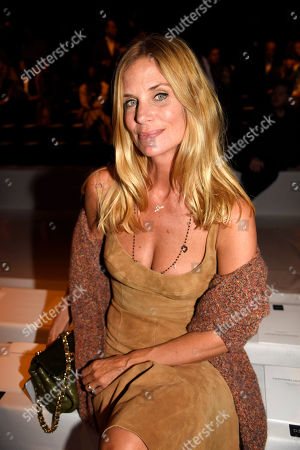 Stock Image of Filippa Lagerback in the front row