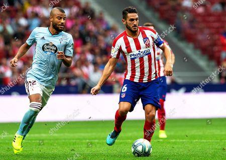 Editorial picture of Atletico Madrid vs Celta Vigo, Spain - 21 Sep 2019