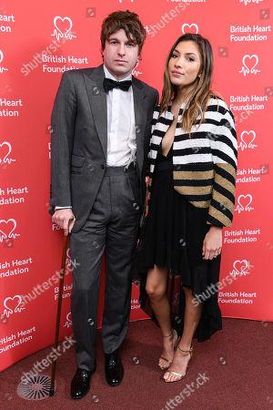 Stock Photo of Luke Pritchard and Ellie Rose