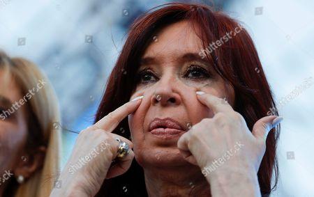 Editorial picture of Cristina Fernandez, Buenos Aires, Argentina - 21 Sep 2019
