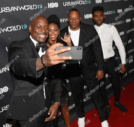 Tyrese Gibson, Nafessa Williams, Deon Taylor (Director) and Frankie Smith