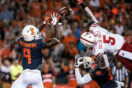 Editorial photo of Nebraska Illinois Football, Champaign, USA - 21 Sep 2019