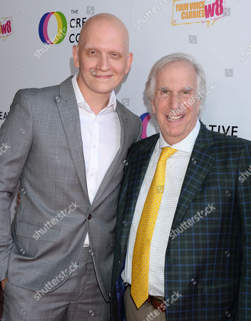 Anthony Carrigan and Henry Winkler