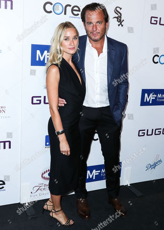 Alessandra Brawn and Will Arnett