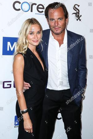 Stock Image of Alessandra Brawn and Will Arnett