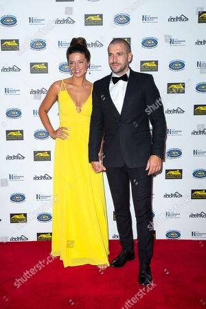 Sophie Austin and Shayne Ward