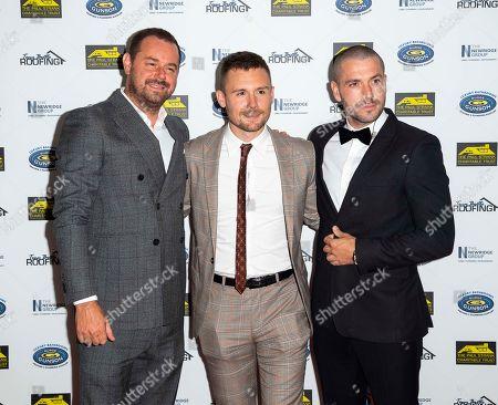 Danny Dyer, Danny Boy Hatchard and Shayne Ward