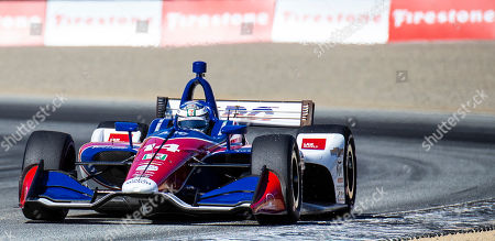 Editorial photo of NTT IndyCar Firestone Grand Prix of Monterey IndyCar Practice # 3, Monterey, USA - 21 Sep 2019