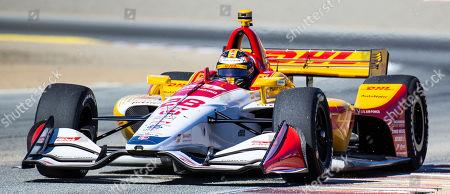 Editorial image of NTT IndyCar Firestone Grand Prix of Monterey IndyCar Practice # 3, Monterey, USA - 21 Sep 2019