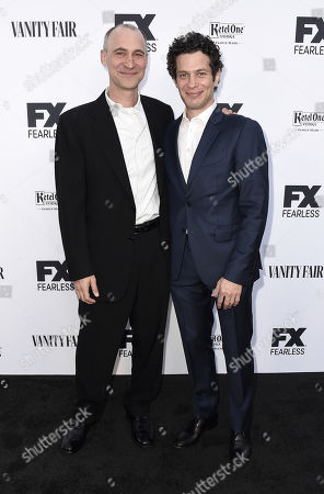 Evan Handler and Thomas Kail