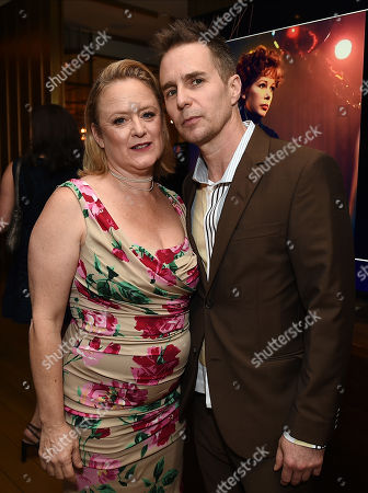Stock Picture of Nicole Fosse, Sam Rockwell