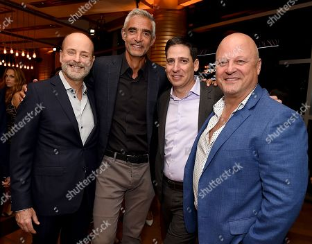 John Landgraf, Peter Liguori, Eric Schrier, Michael Chiklis
