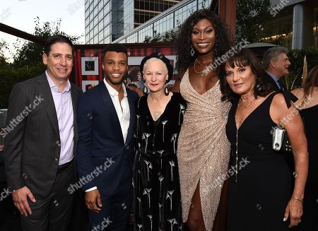 Eric Schrier, President, FX Entertainment, Dyllon Burnside, Lou Eyrich, Dominique Jackson, Sherry Marsh