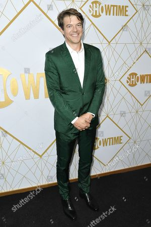 Jason Blum attends the 2019 Primetime Emmy Awards - Showtime Emmy Eve party at the San Vicente Bungalows, in West Hollywood, Calif