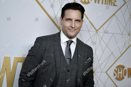 Peter Facinelli attends the 2019 Primetime Emmy Awards - Showtime Emmy Eve party at the San Vicente Bungalows, in West Hollywood, Calif