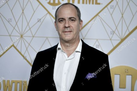 David Nevins attends the 2019 Primetime Emmy Awards - Showtime Emmy Eve party at the San Vicente Bungalows, in West Hollywood, Calif