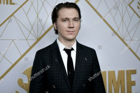 Paul Dano attends the 2019 Primetime Emmy Awards - Showtime Emmy Eve party at the San Vicente Bungalows, in West Hollywood, Calif