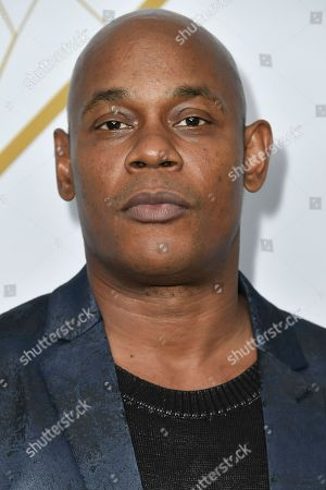 Stock Picture of Bokeem Woodbine attends the 2019 Primetime Emmy Awards - Showtime Emmy Eve party at the San Vicente Bungalows, in West Hollywood, Calif