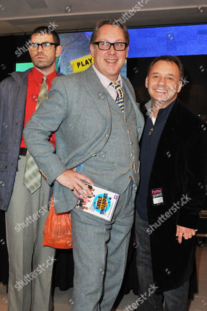 Vic Reeves, Bob Mortimer and Angelos Epithemiou
