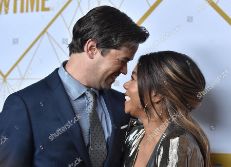 Andrew Rannells and Regina Hall