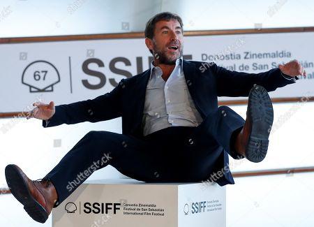 Antonio de la Torre poses during the presentation of the film 'La trinchera infinita' (lit. The infinite trench) at the 67th San Sebastian International Film Festival (SSIFF), in San Sebastian, Spain, 22 September 2019. The festival runs from 20 to 28 September.