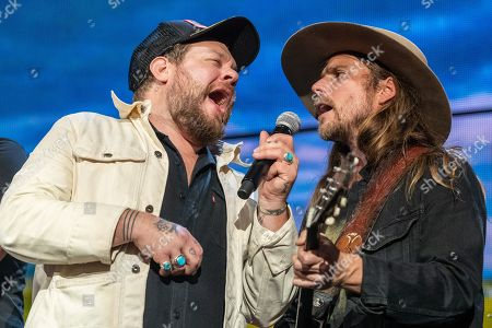 Nathaniel Rateliff and Lukas Nelson