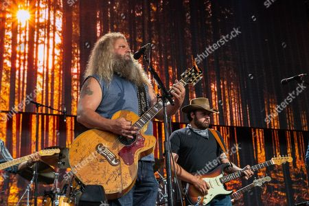 Jamey Johnson and Randy Hauser