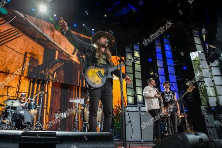 Lukas Nelson, Nathaniel Rateliff and Merlyn Kelly