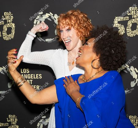 Jenifer Lewis and Kathy Griffin