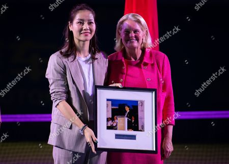 Editorial photo of WTA Wuhan Open tennis tournament, China - 22 Sep 2019