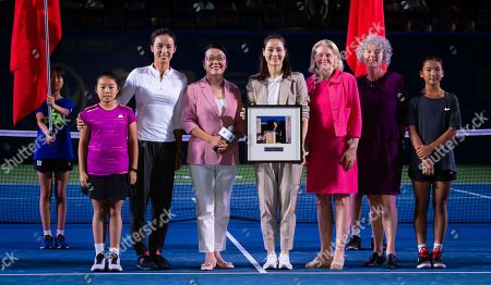 Editorial image of WTA Wuhan Open tennis tournament, China - 22 Sep 2019