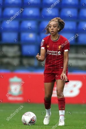 Editorial picture of Liverpool FC Women v Sheffield United Women, Womens Continental Cup, Football, Prenton Park, Birkenhead, UK - 22 Sep 2019