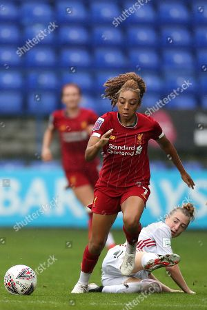 Editorial photo of Liverpool FC Women v Sheffield United Women, Womens Continental Cup, Football, Prenton Park, Birkenhead, UK - 22 Sep 2019