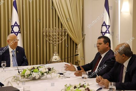 Editorial photo of Consultations to form a new Israeli government, Jerusalem, Israel - 22 Sep 2019