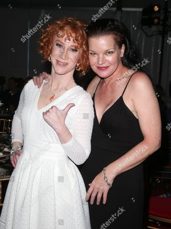 Kathy Griffin and Pauley Perrette