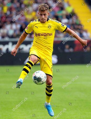 Dortmund's Thorgan Hazard in action during the German Bundesliga soccer match between Eintracht Frankfurt and Borussia Dortmund in Frankfurt Main, Germany, 22 September 2019.