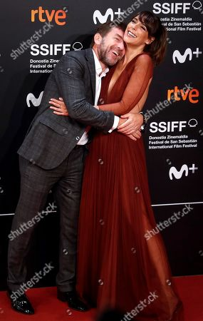 Antonio de la Torre (L) and Spanish actress Belen Cuesta pose for the media during the 67th edition of the San Sebastian International Film Festival held in San Sebastian, Spain, 22 September 2019. The festival runs from 20 to 28 September.