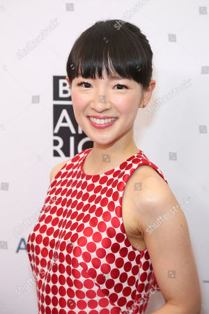 Marie Kondo arrives at the 2019 Primetime Emmy Awards - BAFTA Los Angeles TV Tea Party at the Beverly Hilton, in Beverly Hills, Calif