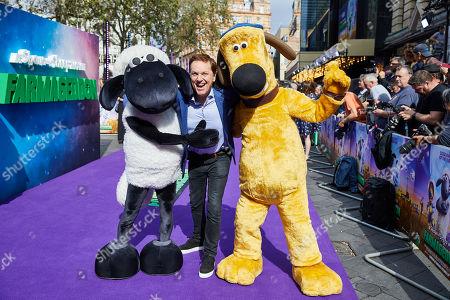 Editorial photo of Shaun the Sheep: Farmageddon film premiere, London, UK - 22 Sep 2019