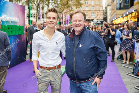 Joe Sugg and Justin Fletcher