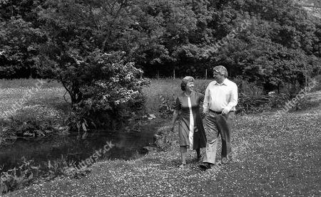 John Le Mesurier with his wife