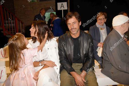 Davide Devenuto and Serena Rossi in the front row