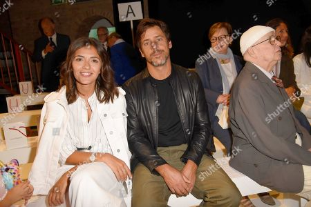 Editorial image of Laura Biagiotti show, Front Row, Spring Summer 2020, Milan Fashion Week, Italy - 22 Sep 2019