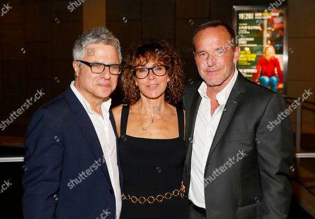 Neil Pepe, Jennifer Grey and Clark Gregg