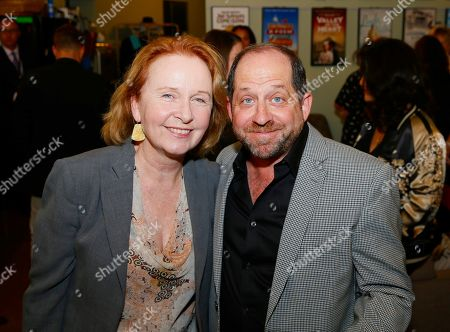 Kate Burton and Jason Kravits