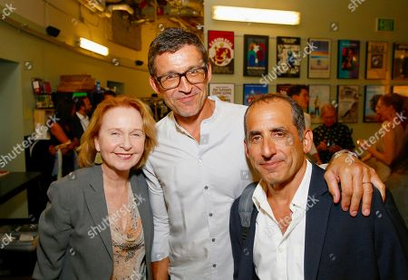 Kate Burton, Jonathan Cake and Peter Jacobson