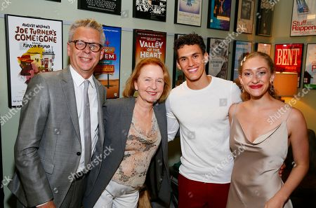 Michael Ritchie, Kate Burton, Sam Vartholomeos and Micaela Diamond