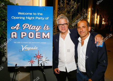 Neil Pepe and Peter Jacobson