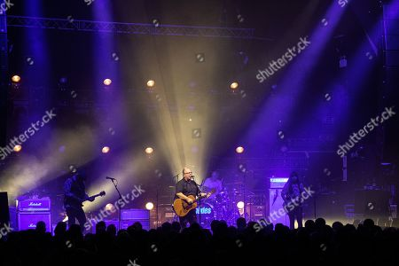 Stock Photo of The Pixies - Joey Santiago, Black Francis, David Lovering,and Paz Lenchantin