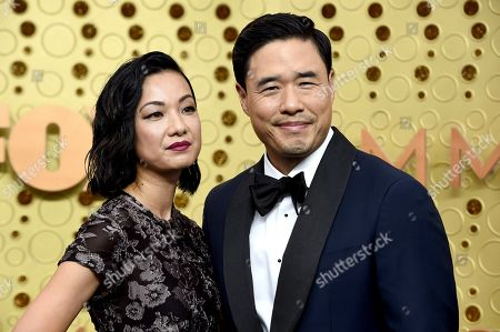 Jae Suh Park, Randall Park. Jae Suh Park, left, and Randall Park arrive at the 71st Primetime Emmy Awards, at the Microsoft Theater in Los Angeles